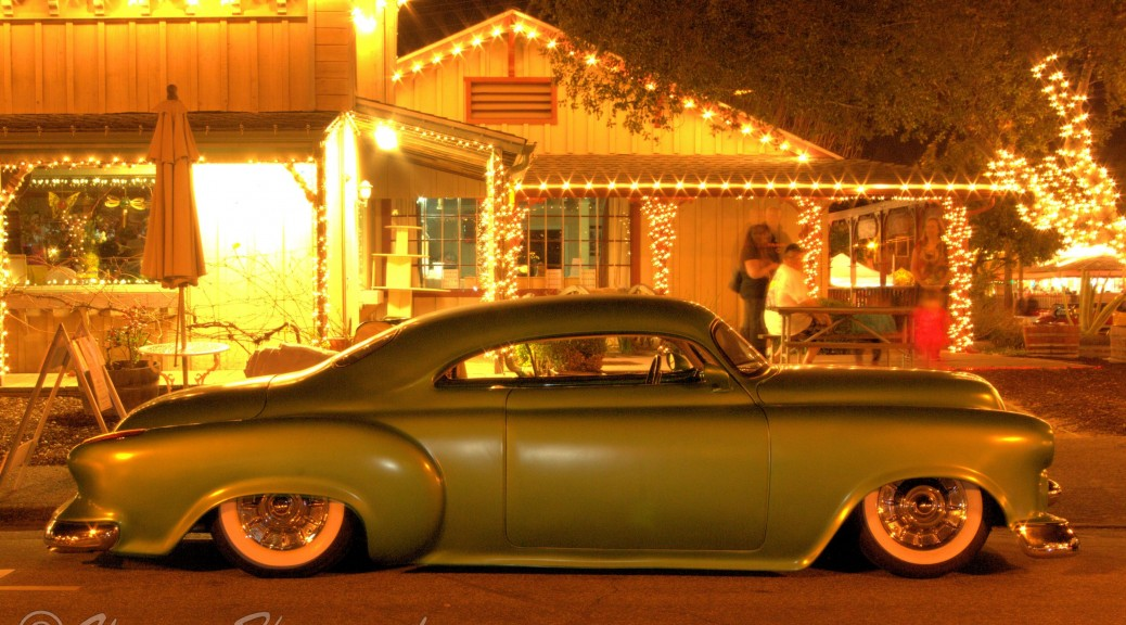 Kustom Chevrolet Lead Sled, 2014 Temecula Rod Run