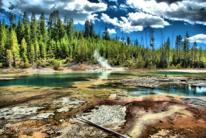 Vernon Heywood Photography - Norris Geyser Basin, Yellowstone National Park