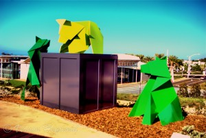 Cub Triptych - Newport Beach Civic Center Park