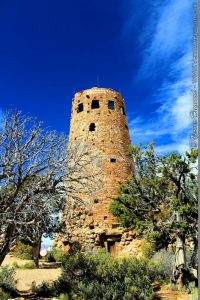 The Desert View Tower designed by architect Mary Colter